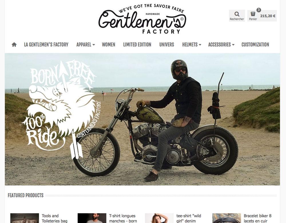 Home page - Gentlemen's Factory - Création Sakkamoto.com