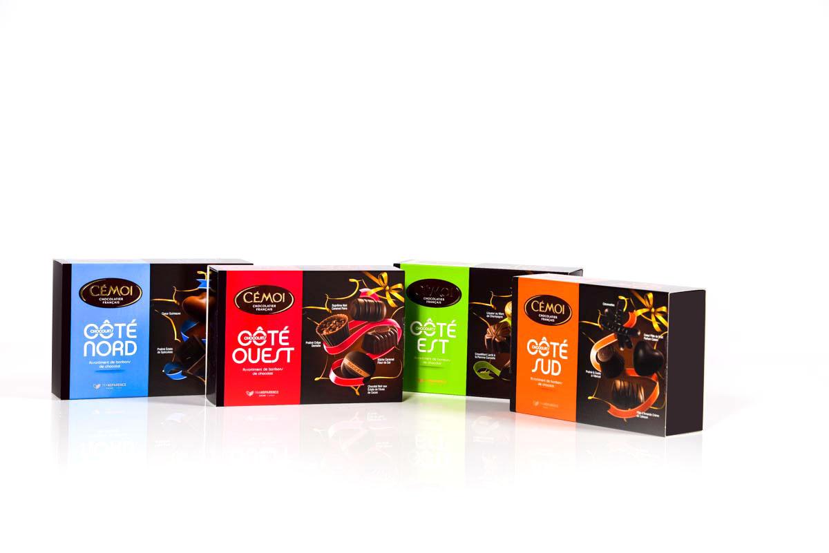 Conception du packaging chocolat Sakkamoto, agence de communication et de création