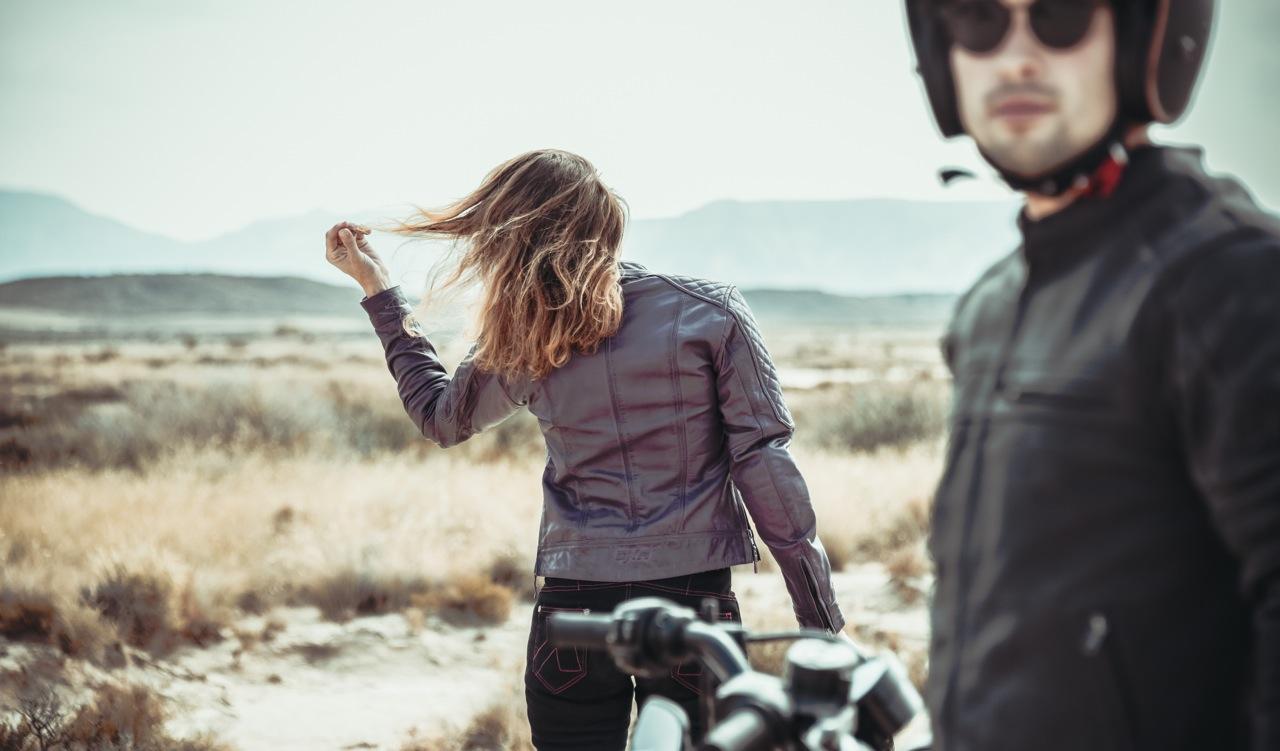 Photo : laurent scavone / Motoblouz / Création de contenu de marque / photos blousons de cuir