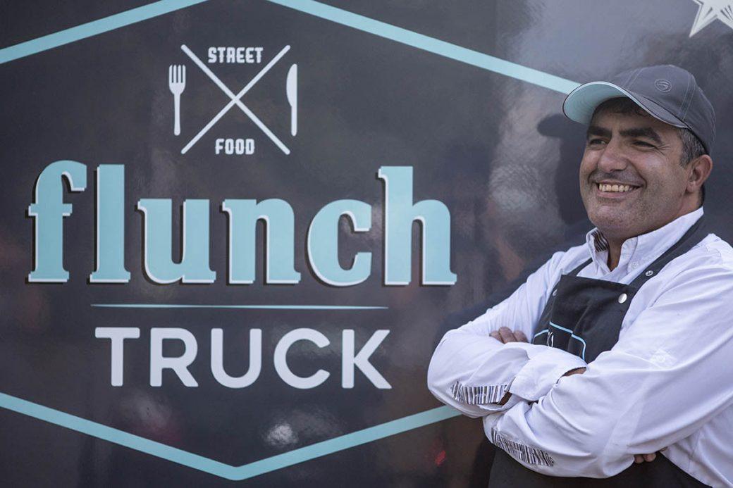 Communication Flunch Truck, publicité et identité de marque, sakkamoto