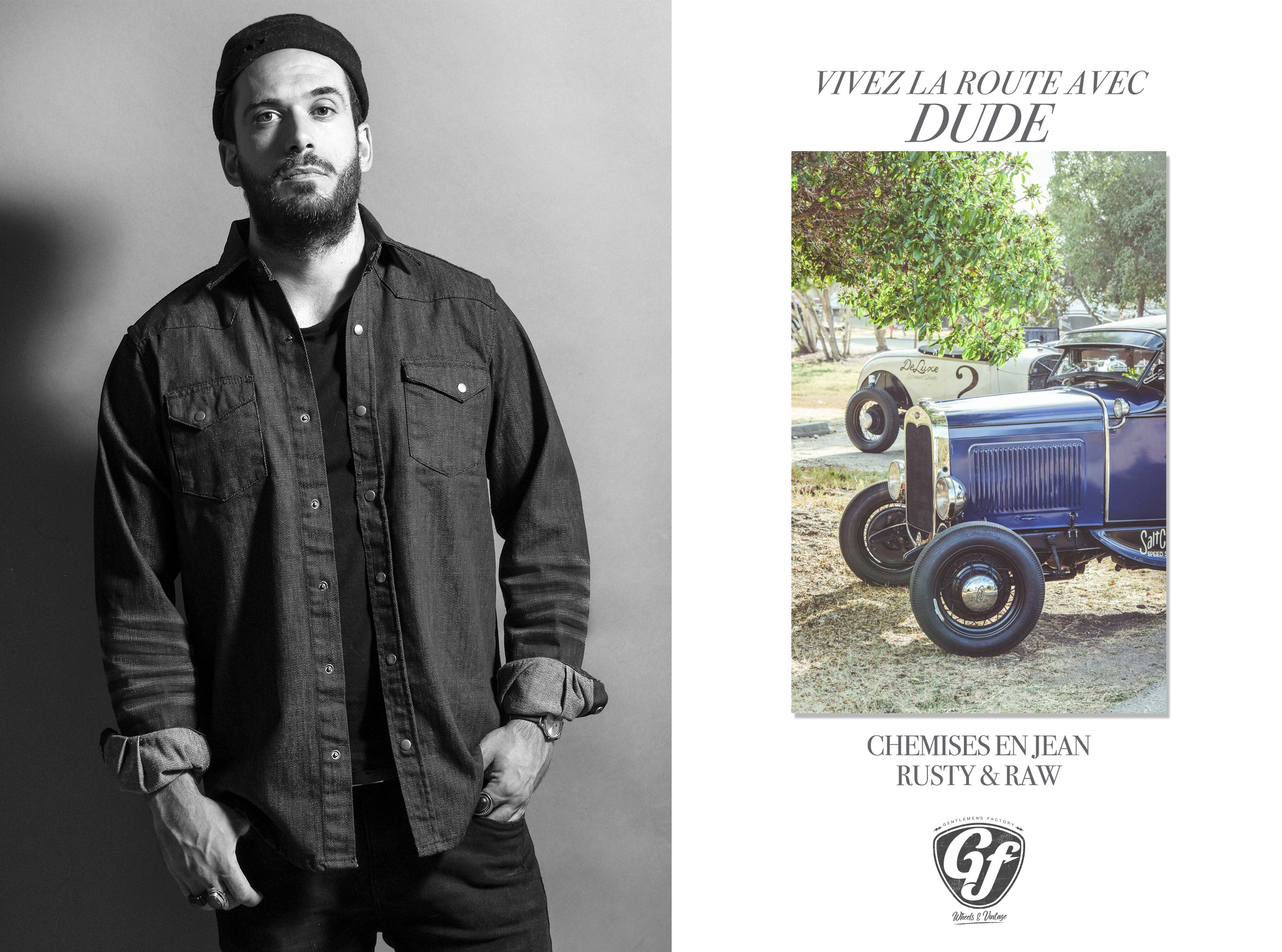 Campagne publicitaire Gentlemen's Factory