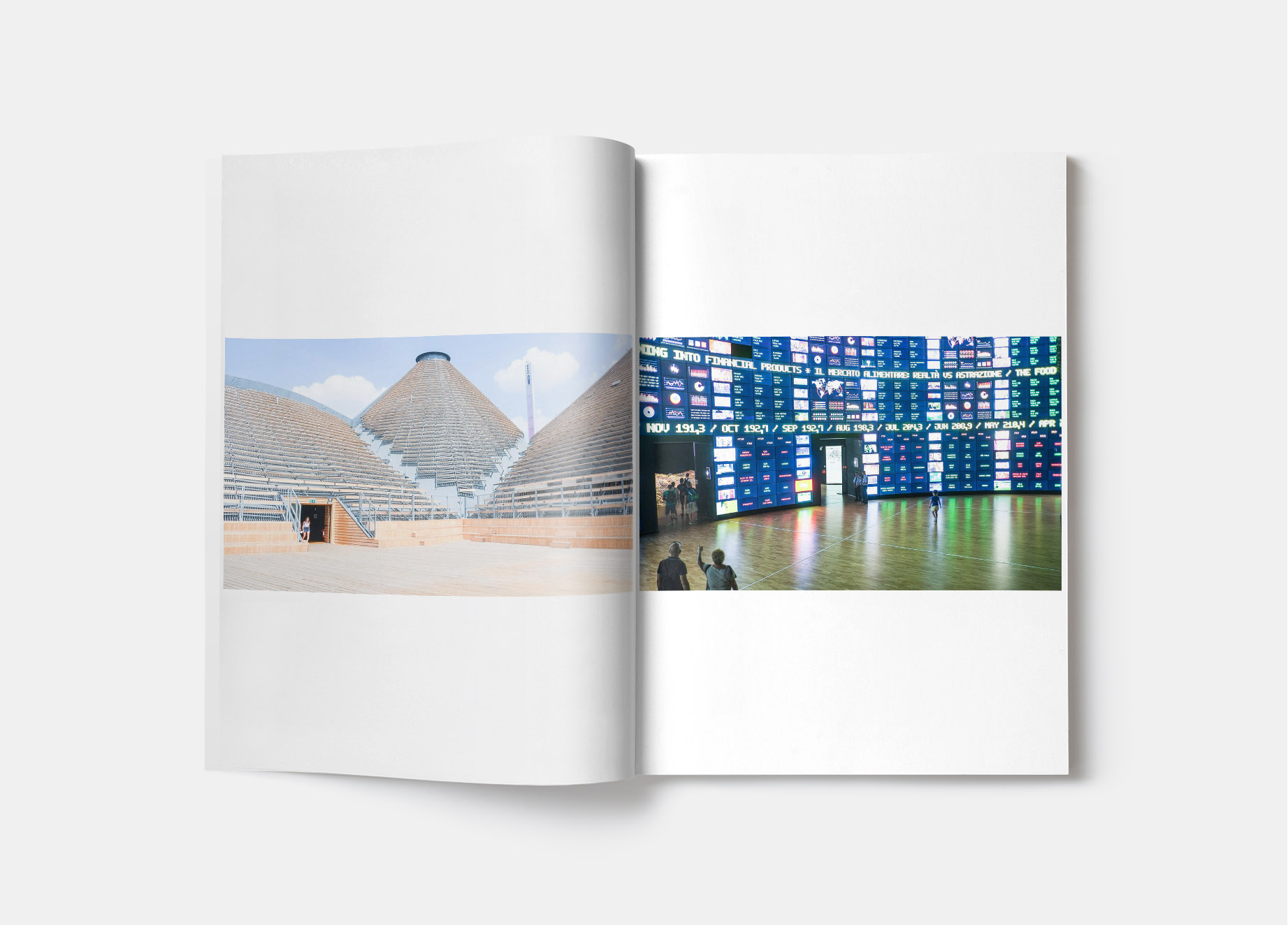 Photos de l'exposition universelle de Milan en 2015, création de contenu, Sakkamoto agence de création de contenu de marque.