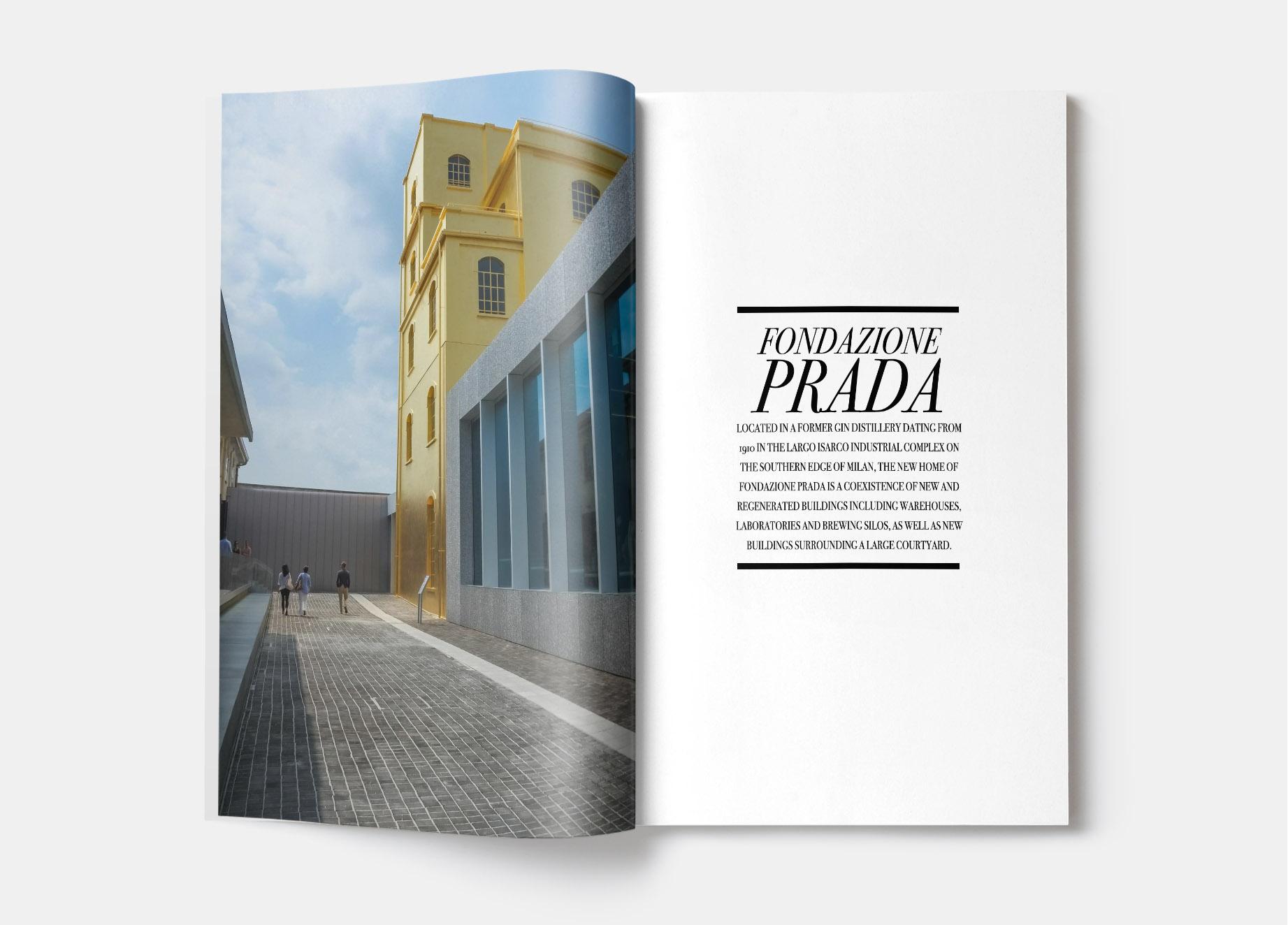 Fondation Prada Milan - Photos Laurent scavone. Editorial, magasine international