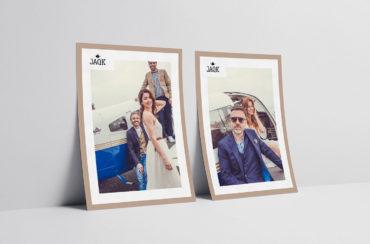 PLV, photos de la marque Jaqk de la collection printemps 2018. Photos pour les réseaux sociaux, le web, la presse et les PLV magasins.