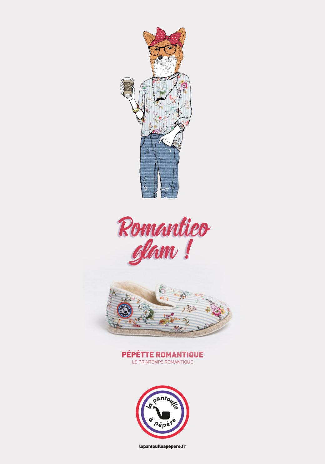 Campagne publicitaire La Pantoufle à Pépère - Conception Sakkamoto - Agence de publicité et de communication Lilloise - Conception, création, rédaction et contenu de marques