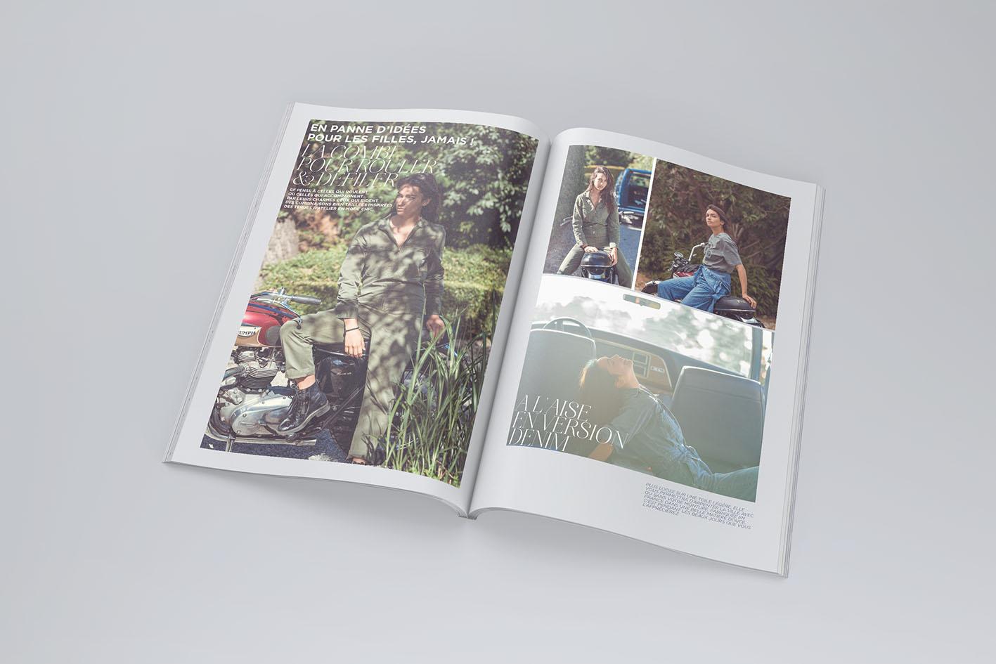 Création de catalogue mode et accessoires, direction artistique et création sakkamoto Lille, agence de communication et studio de création Lilloise.